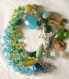 50 Shades of Beads Bracelet