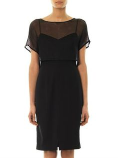 L'Agence Mesh cape dress <--- to say I'm in love with this dress would be a gross understatement.
