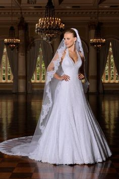 Vestido de noiva center noivas coleção jasmim