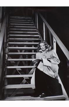 Katharine Hepburn ( Maxwell Anderson's The Eve of St. Mark ) 1944 © Serge Balkin