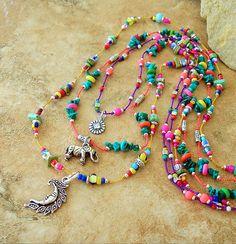 Bohemian Necklace, Layered Necklace, World Market, Boho Jewelry, ... | necklaceday