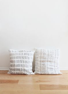 diy mudcloth pillows | almost makes perfect