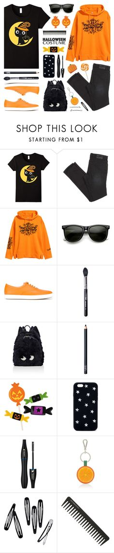 """Happy Halloween!"" by lgb321 ❤ liked on Polyvore featuring ZeroUV, Tomas Maier, Sigma, Anya Hindmarch, NARS Cosmetics, Cricut, STELLA McCARTNEY, Lancôme, Barneys New York and H&M"