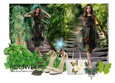 """""""Romwe III-5"""" by azra-90 ❤ liked on Polyvore featuring Nearly Natural, Tattly, SHOUROUK, vintage and romwe"""