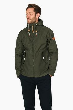 Penfield Gibson in olive. Great light jacket for those spring showers or blustery fall days.