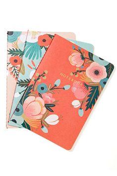 Rifle Paper Co. Botanicals Notebook Set | Shop Home at Nasty Gal