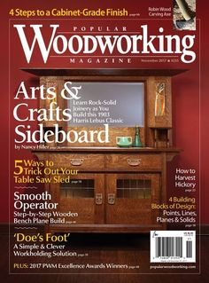 Popular Woodworking Magazine, November 2017, Digital Edition | ShopWoodworking