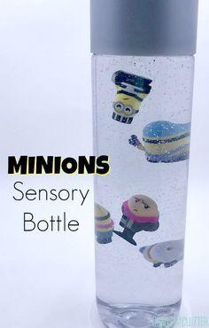 Adorable Minions Despicable Me Sensory Bottle