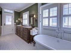 So awesome- the vanity and I love indoor transoms