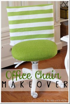 Office-Chair-Makeover tutorial