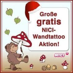 Gratis Nici Wandtattoo bestellen - http://www.vickyliebtdich.at/gratis-nici-wandtattoo-bestellen/