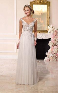 6224 Illusion Lace Wedding Dress by Stella York