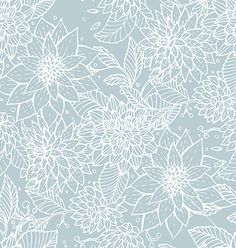 Buy Seamless Floral Pattern by SonneOn on GraphicRiver. Vector illustration of Seamless floral pattern Hallway Wallpaper, Floral Pattern Vector, Vector Flowers, Illustration, Vector Art, Flower Power, Planting Flowers, Clip Art, Tapestry