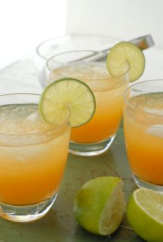 Fresh Peach Magarita.  Ingredients:    1 ½ ounce silver or Blanco tequila (I prefer organic and have loved Republic of late)  ¾ ounce freshly squeezed lime juice  ½ ounce agave syrup, 1-2 ounces of fresh Peach Puree*, Lime slice (garnish), Ice