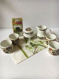 Check out this item in my Etsy shop https://www.etsy.com/listing/500850296/vintage-ceramic-coffee-serving-set