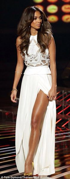 Nicole ~ Style . White dress