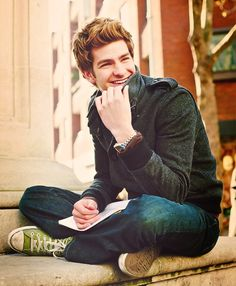 May have already pinned this one, but it reminds me of someone I like so I'm pinning anyway! #AndrewGarfield