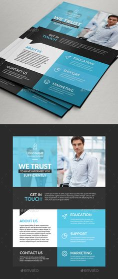 Corporate Flyer Template  More Flyer Template Ideas