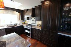 Kitchen remodel with custom cabinets in Laguna Niguel Orange County