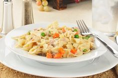 Easy Tuna Noodle Un-Casserole - Go Dairy Free