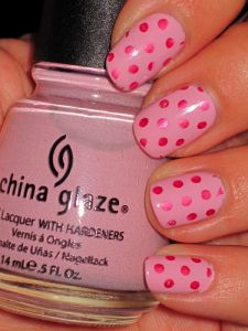 this or red with pink polka dots. too cute