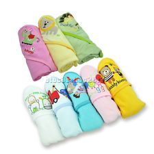 New baby Cotton bag the blanket towel cartoon Hooded Bath Towel.