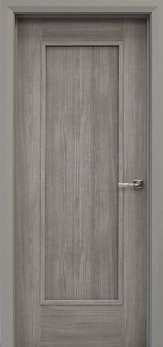 - The Shaker door has been given a new contemporary edge with the introduction of a NEW prefinished grey laminate wood grain. Interior Door Styles, Black Interior Doors, Door Design Interior, Best Door Designs, Contemporary Internal Doors, Bedroom Door Design, Classic Doors, Shaker Doors, Inside Doors