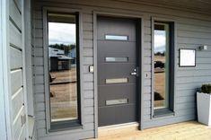 Ovet, House Plans, Garage Doors, New Homes, Decor Ideas, Outdoor Decor, Home Decor, Blueprints For Homes, Homemade Home Decor