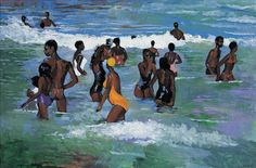 TheNewAfrican — Paintings by Boscoe Holder