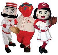Cincinnati Reds mascots