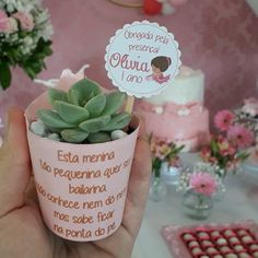 Mini Vasos, Succulent Gifts, Mini Plants, Maya, Succulents, Place Cards, Packaging, Place Card Holders, Baby Shower