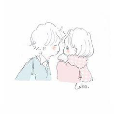 Cute Kawaii Drawings, Love Drawings, Dibujos Cute, Couple Cartoon, Korean Artist, Sweet Couple, Anime Love, Love Art, Aesthetic Pictures