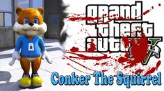 GTA 5 моды - Conker The Squirrel