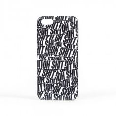 Oh Shit! iPhone 5/5s Case - Black/White | indcsn