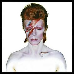 Aladdin Sane LP cover.
