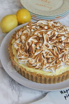 A Buttery Biscuit Base, Smooth Lemon Cheesecake Filling, and an Italian Meringue make this No-Bake Lemon Meringue Cheesecake the perfect Dessert & Showstopper! I honestly...
