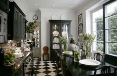 eat in kitchen  by john jacobs interiors