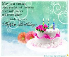 Dgreetings - Birthday Greeting Card