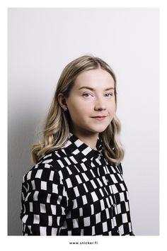 Photo: Jussi Snicker Portrait Photography, My Photos, Blouse, Tops, Women, Fashion, Moda, Fashion Styles, Blouses