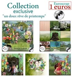 collection Un Doux Rêve de Printemps by KittyScrap http://scrapfromfrance.fr/shop/index.php?main_page=index&manufacturers_id=19