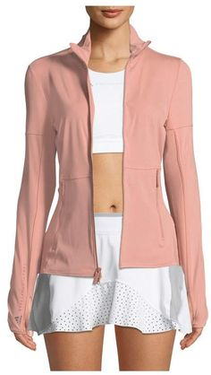 Adidas By Stella McCartney Adidas By Stella McCartney Performance Essential MidLayer Jacket $120  #Women     #Clothing         #Activewear             #Pants