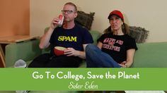 Go to College, Save the Planet