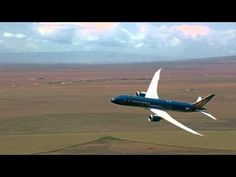 Boeing 787 Dreamliner passenger jet taking off at such a steep angle that it appears to be nearly vertical.