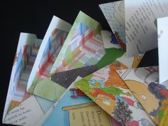 Childrens book recycled into set of mailing envelopes by moncy3, $7.50