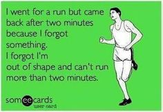 Not *strictly* a fact, but sometimes it feels like it - esp. BEFORE I run.