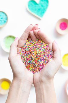 How To Dye Sprinkles!