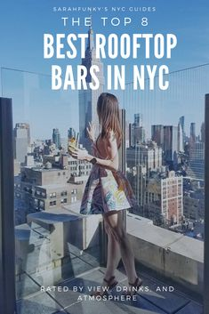 The best way to enjoy a nice drink in New York is on a rooftop bar. There are many in the city that are advertising the best views. However, these eight are my top picks for the ultimate rooftop bar experience in NYC. All of the bars on my best rooftop ba New York Travel Guide, New York City Travel, Travel Tips, Craft Cocktails, Nyc Itinerary, Rooftop Bars Nyc, Beste Cocktails, Destinations, Oregon