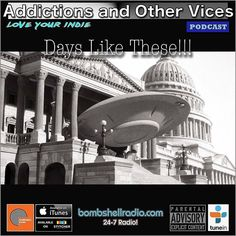Addictions Podcast #stitcherradio #itunes #indie  bombshellradio.com #alternative #alternative Tonight New Indie finds a few favourites Bombshell Radio Tracks of the Day and a few tracks that find welcome refuge. This is Addictions and Other Vices 363 - Days Like These!!! I hope you enjoy!  Be sure to subscribe to our Bombshell Radio  Itunes and Stitcher Feeds.  If your a musician and you want to submit tracks to this show (please listen first to see if your music is a good fit)  head to our…