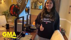 11th grader builds 3D printer, creates up to 200 face shields for frontl... Design Development, Tech News, 3d Printer, Face, Clever, Ideas, Faces, Facial, Thoughts