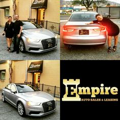 Congratulations Gabby on your Brand New Audi A3. Enjoy your beautiful car and welcome to the Empire Auto Family.  #empireauto #new #car #lease #purchase #finance #refinance #newcarlease #newcarfinance #leasingcompany #customerservice #GlenoaksBlvd #glendale #brokerage #autobrokersales #autobroker #autobrokers #wholesaler #freeoilchange #freemaintanance #2016audia3